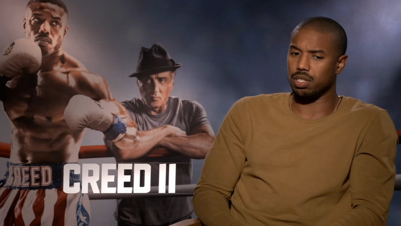 The city of Philadelphia is the pulse and heart of the ultimate underdog story in Creed II - Alicia Vitarelli interviews the cast during Action News at noon on November 21, 2018.