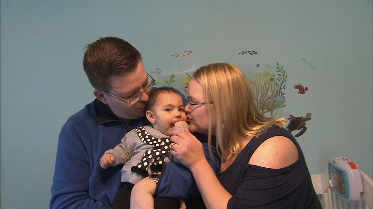 Delco couple adopt daughter 4 years after crowdfunding: Alicia Vitarelli reports during Action News at 4pm on November 21, 2018.