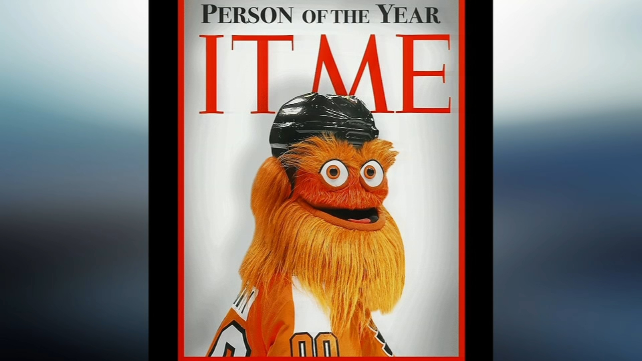 Gritty nominates himself for TIME Magazines Person of the Year. Matt ODonnell reports during Action News at 6 a.m. on November 21, 2018.