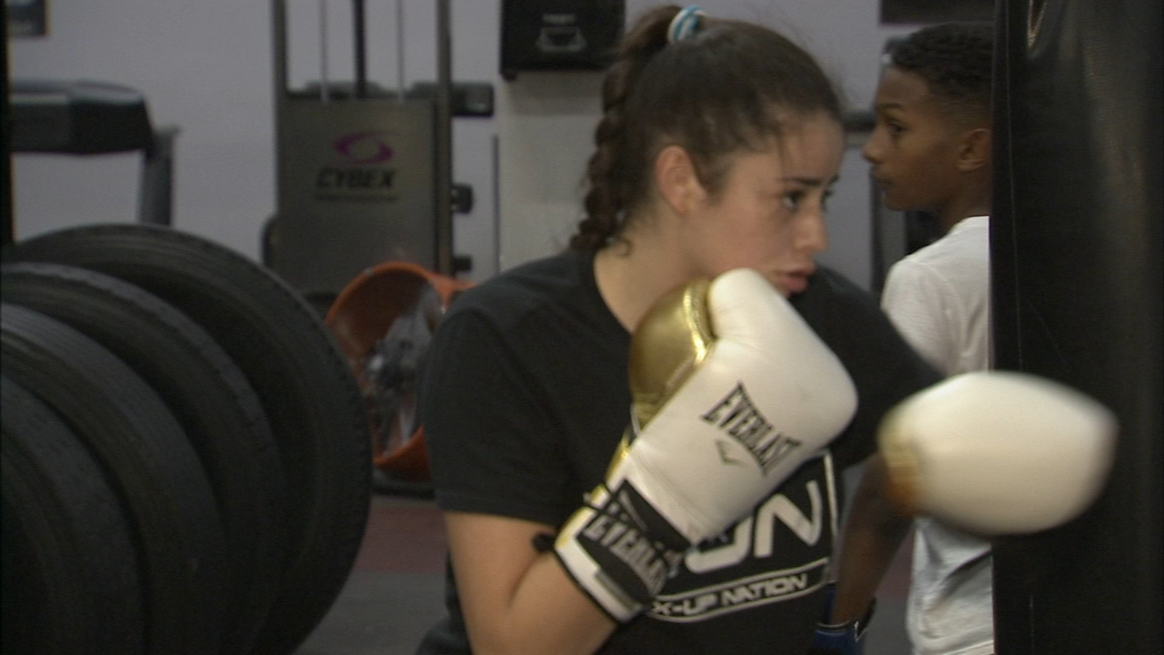 Local boxer is being called the next Joe Frazier. Alicia Vitarelli reports during Action News at 4 p.m. on November 21, 2018.