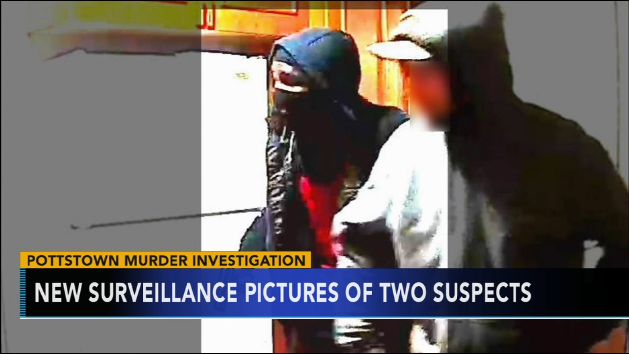 Pictures released of 2 suspects in Pottstown murder. Watch the report from Action News at 4 p.m. on Nov. 21, 2018.