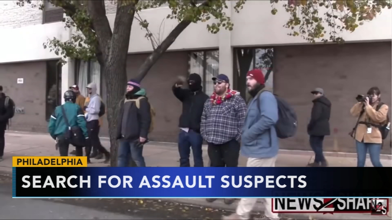 Police release surveillance video of assault on military reservists. Tamala Edwards reports during Action News at 4 a.m. on November 21, 2018.