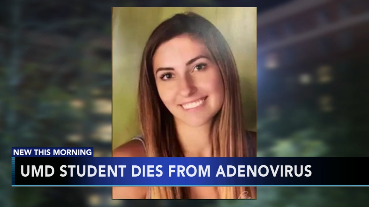 University of Maryland student dies after being diagnosed with Adenovirus. Tamala Edwards reports during Action News at 4 a.m. on November 21, 2018.