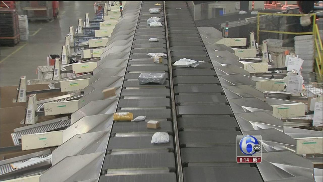 VIDEO: Busiest mailing day of the year