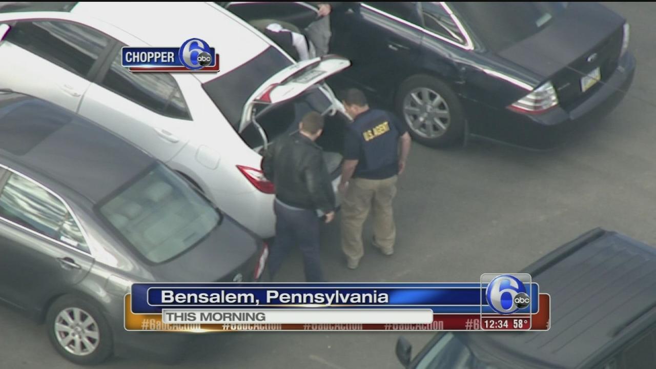 VIDEO: FBI raids trucking company