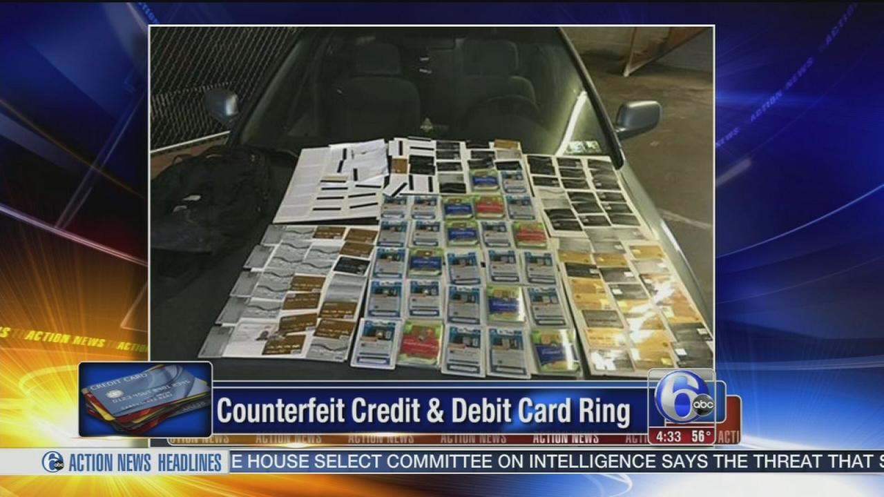 VIDEO: Counterfeit credit and debit card ring