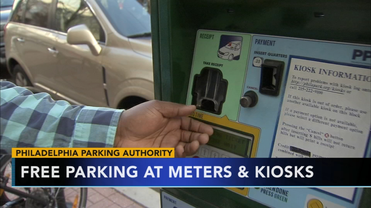 Philadelphia Parking Authority offers free parking on Saturdays for holiday season. Gray Hall reports during Action News at 6 a.m. on November 24, 2018.