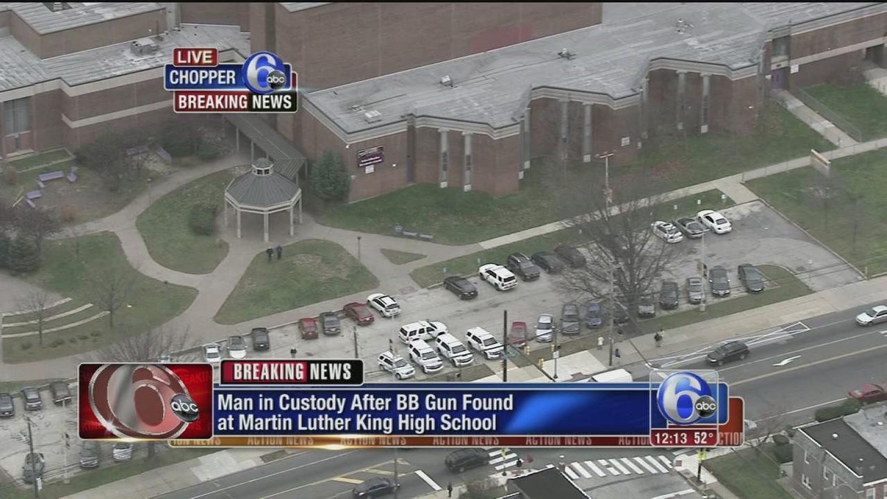 VIDEO: BB gun found at MLK High School