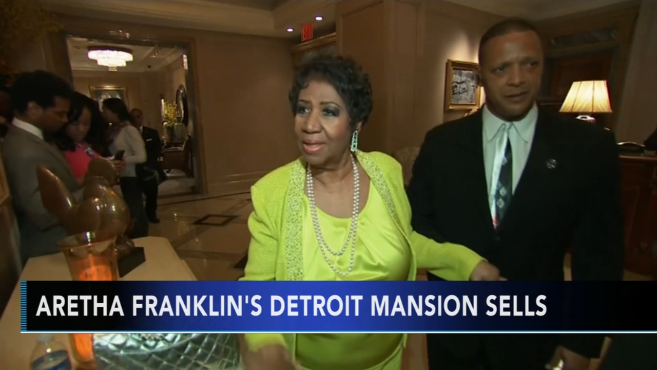 Aretha Franklins Detroit mansion sells for $300K. Gray Hall reports during Action News at 9 a.m. on November 25, 2018.