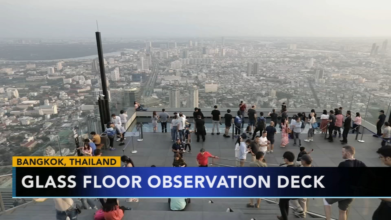 Thailand glass floor observation deck will take you to new heights. Nydia Han reports during Action News at 6 a.m. on November 23, 2018.
