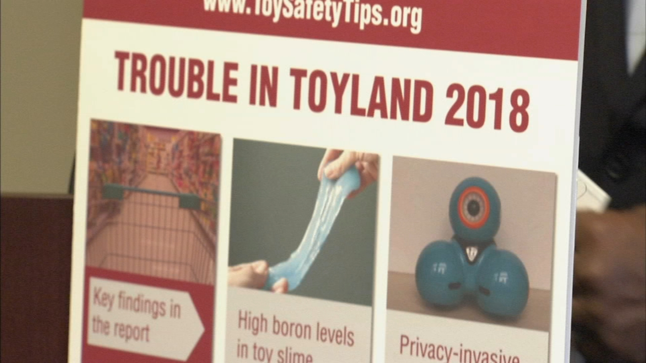 Pennsylvania Public Interest Research Group warns of dangerous toys this holiday season. Nydia Han reports during Action News at 9 a.m. on November 25, 2018.