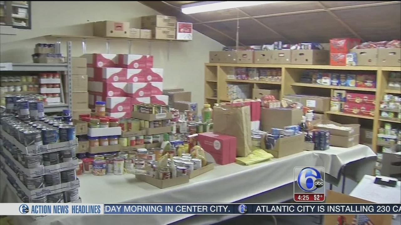 Food donations for the holidays