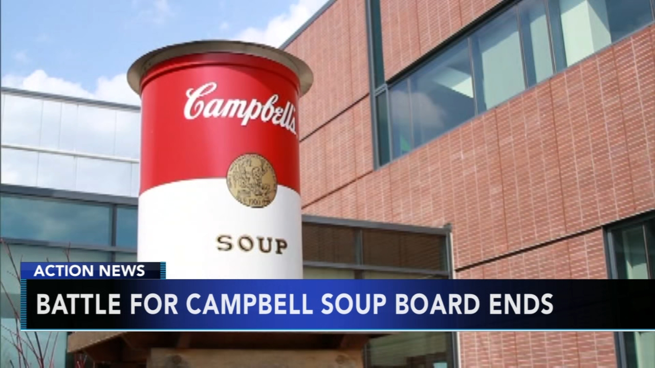 Battle for Campbell Soup board ends: As seen on Action News at 5 p.m., November 26, 2018