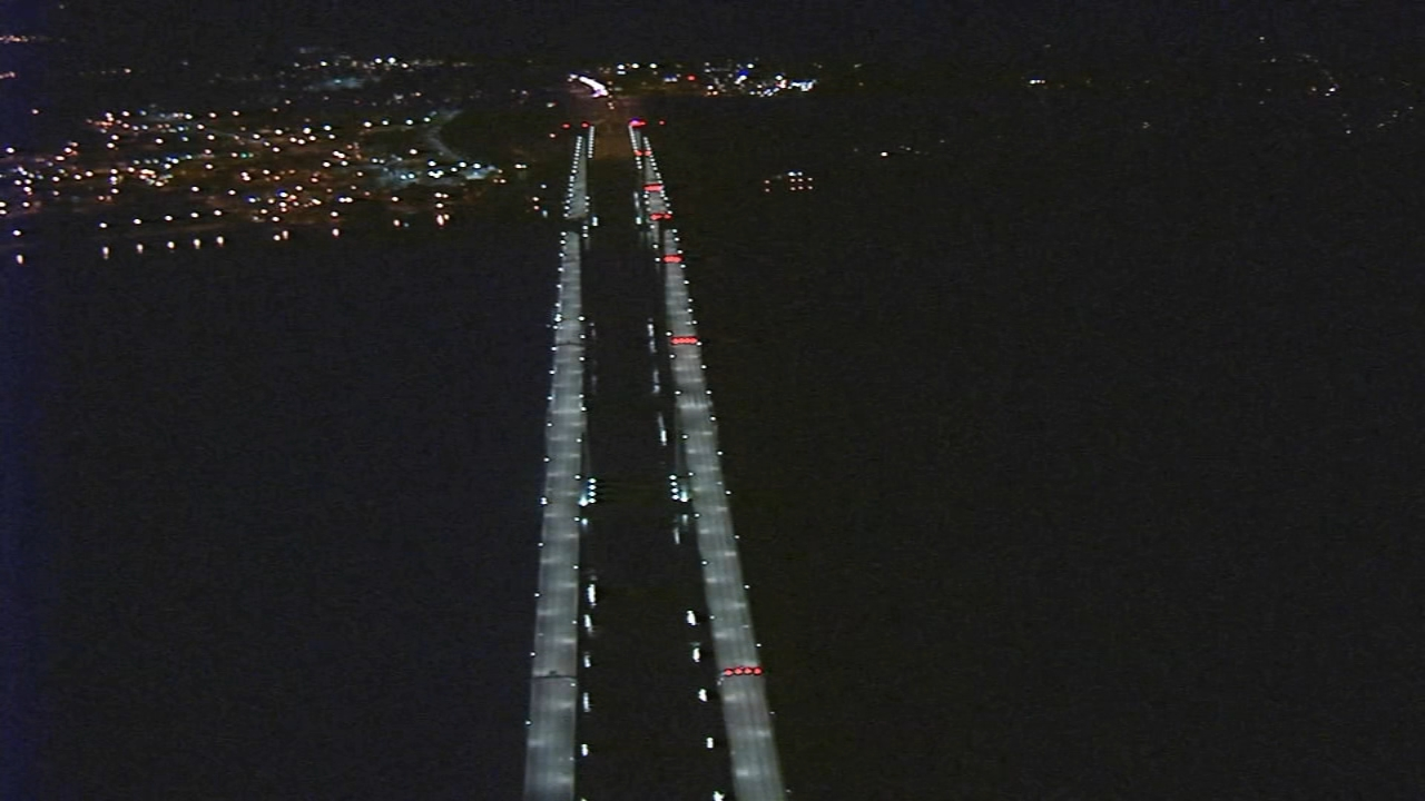 Delaware Memorial Bridge reopens after nearby gas leak. Tamala Edwards reports during Action News Mornings on November 26, 2018.