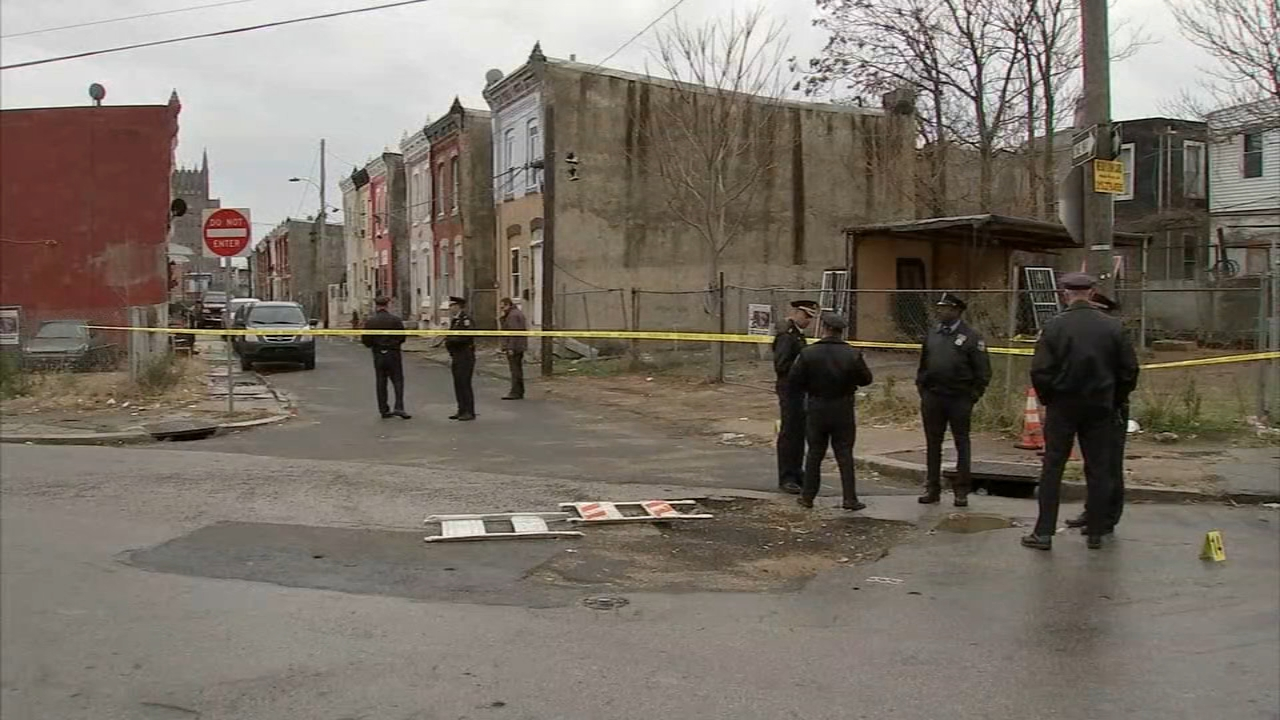3 victims critically injured after shooting in Kensington section of Philadelphia. John Rawlins reports during Action News at 5pm on November 26, 2018.