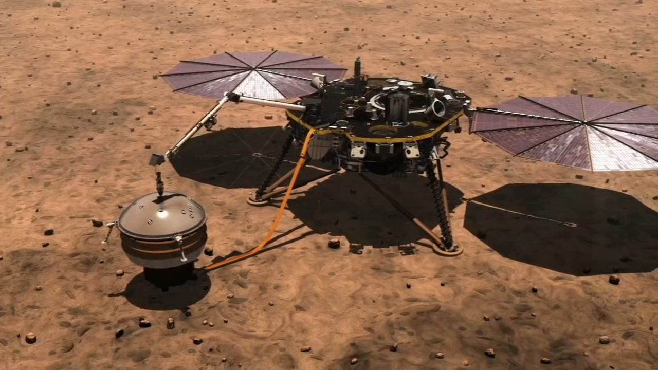 Anxiety abounds at NASA as Mars landing day arrives. Tamala Edwards reports during Action News Mornings on November 26, 2018.