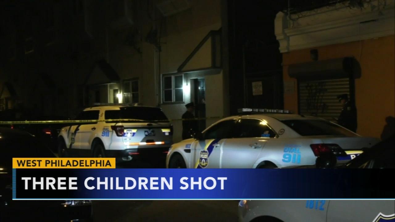 2 teens, boy injured in West Philadelphia shooting. Katherine Scott reports during Action News Mornings on November 26, 2018.