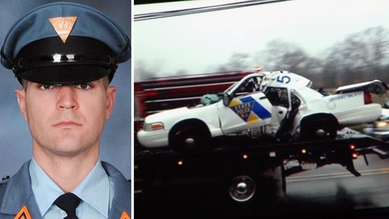 nj state police trooper killed in salem co crash. Black Bedroom Furniture Sets. Home Design Ideas