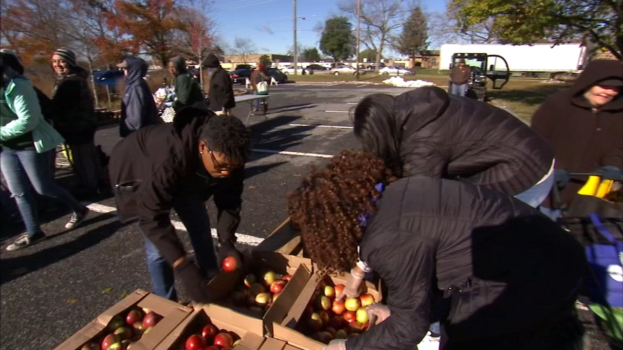 Rowan University fights hunger on campus. Matt ODonnell reports during Action News at 5:30 p.m. on November 27, 2018.