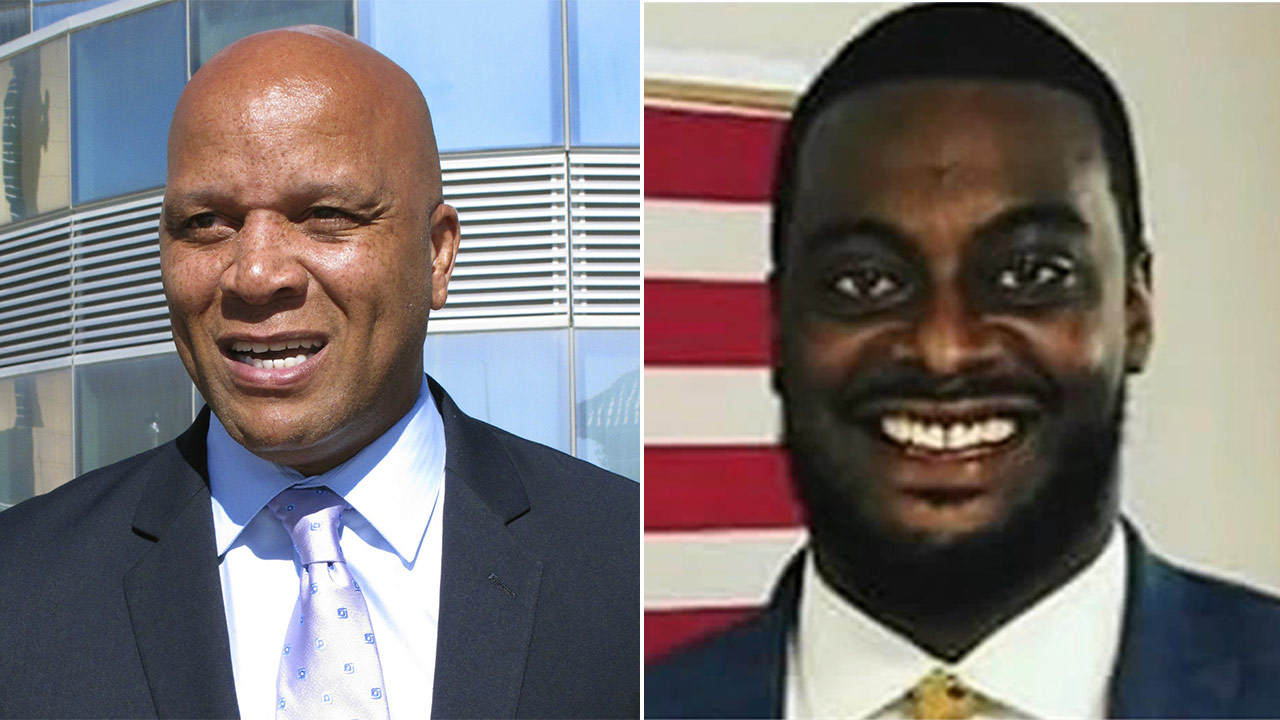 Atlantic City Mayor Frank Gilliam and City Councilman-at-large Jefree Fauntleroy