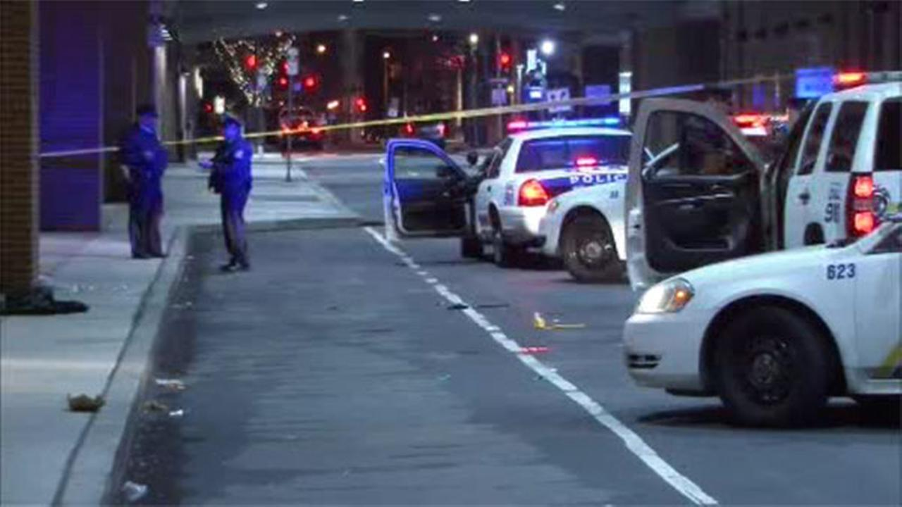 A man is in critical condition after a stabbing in Center City.