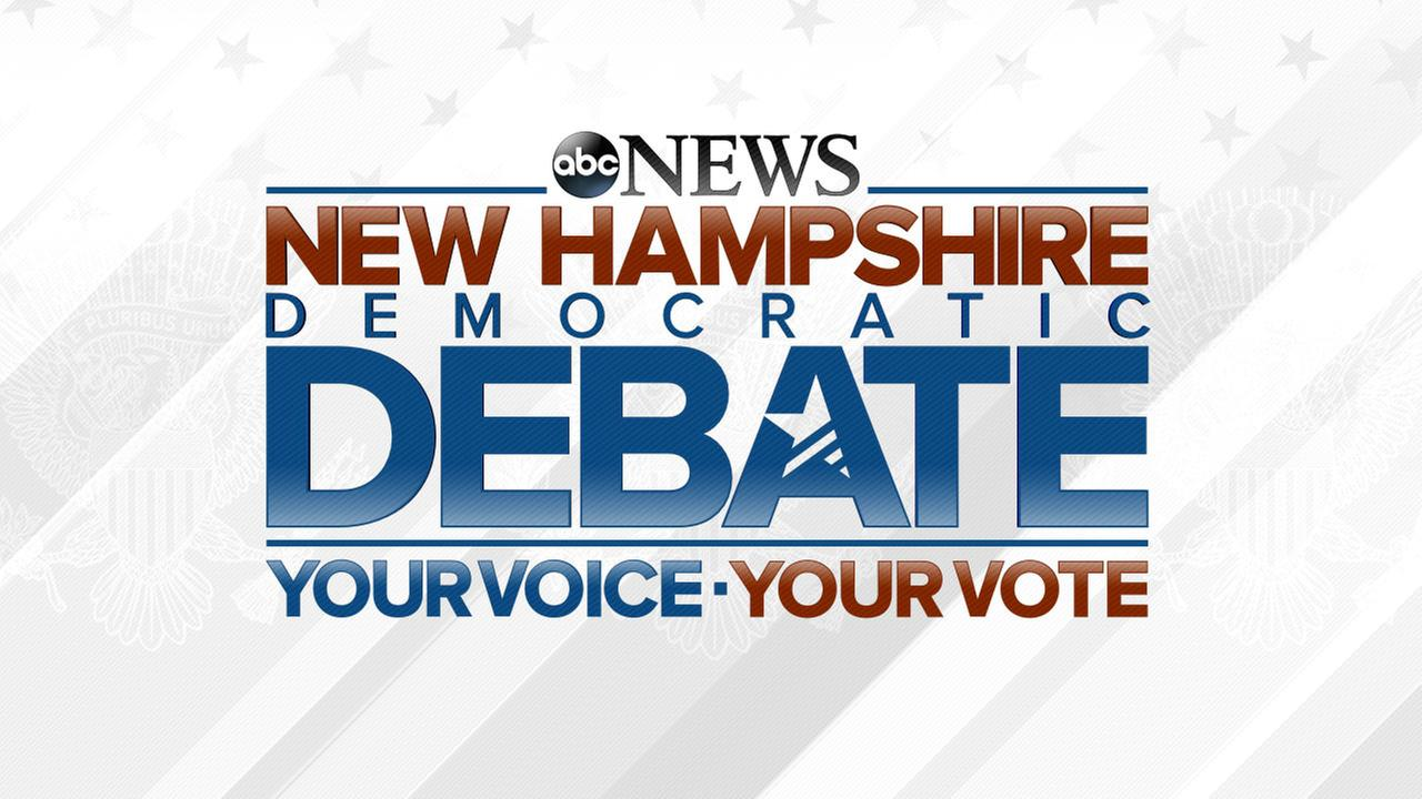Democratic Debate in New Hampshire - live streaming coverage from ABC News