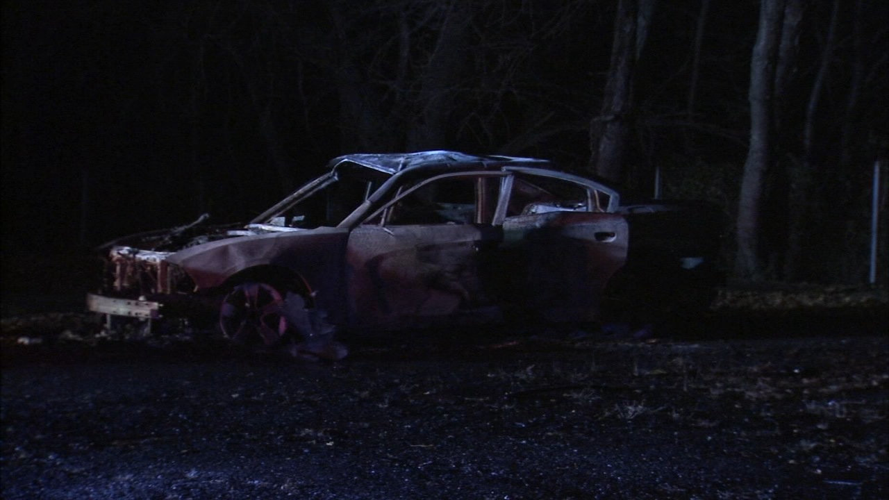 Car set on fire at Chester mosque parking lot. Tamala Edwards reports during Action News Mornings on November 28, 2018.