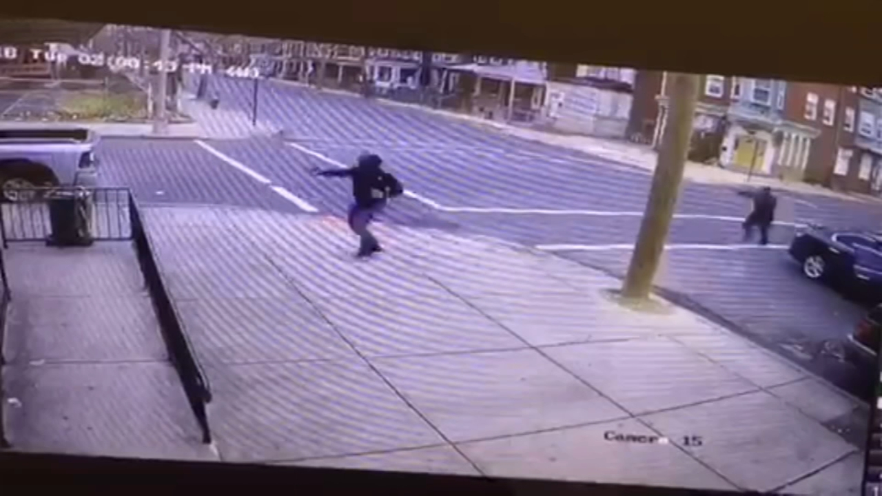 Video captures gang shooting in Trenton that left woman, 19, dead. Bob Brooks reports during Action News at 5pm on November 28, 2018.