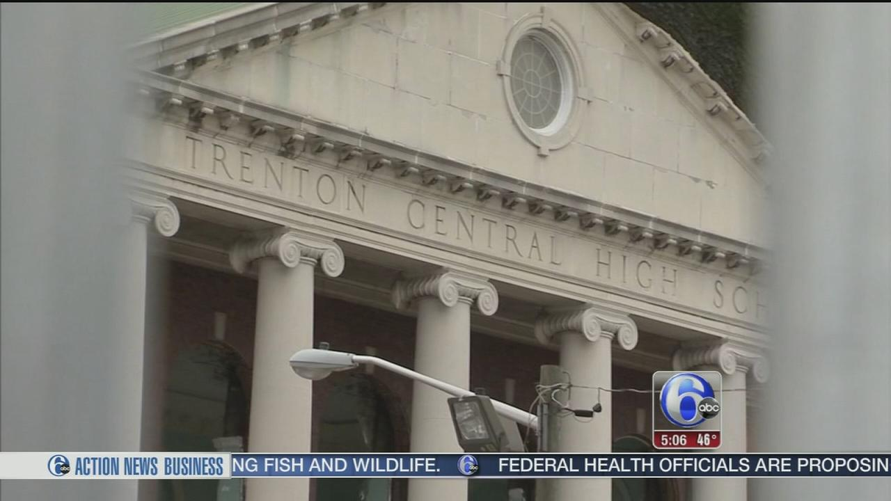 VIDEO: Neighbors concerned about debris from Trenton H.S. demo