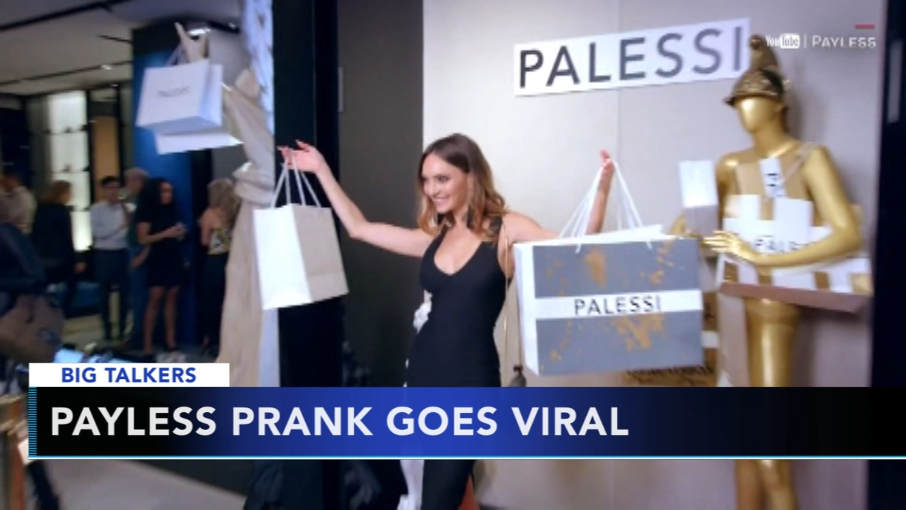 Payless sets up fake boutique Palessi, sells shoes for $600. Alicia Vitarelli reports during Action News at 4 p.m. on November 29, 2018.