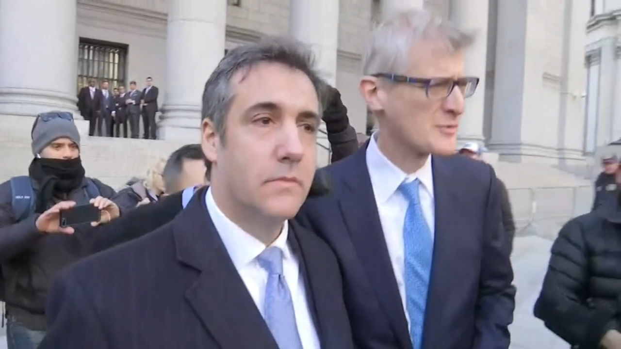 Michael Cohen pleads guilty to lying to Congress. Emily Rau reports during Action News at Noon on November 29, 2018.