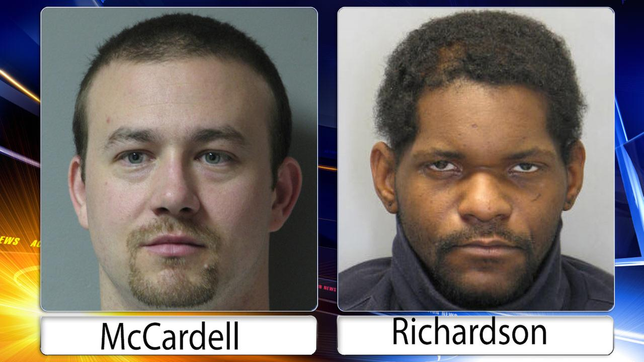 2 charged, 1 sought after suspect wounded in trooper-involved shooting in Delaware