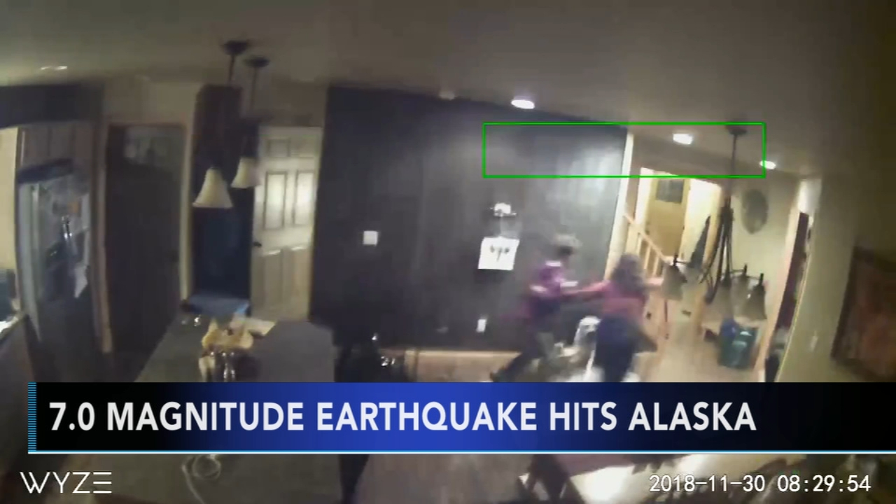Major earthquakes cause widespread damage in Anchorage, Alaska. Maggie Kent reports during Action News at 10 p.m. on November 30, 2018.