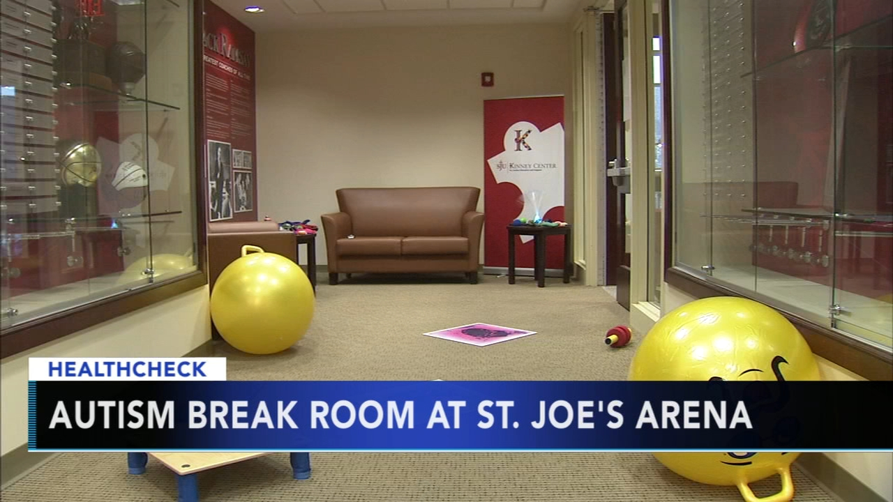 St. Joes arena debuts Autism break room: Alicia Vitarelli reports during Action News at 5pm on November 30, 2018.