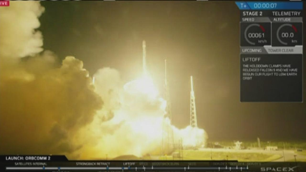 VIDEO: SpaceX launches rocket 6 months after accident