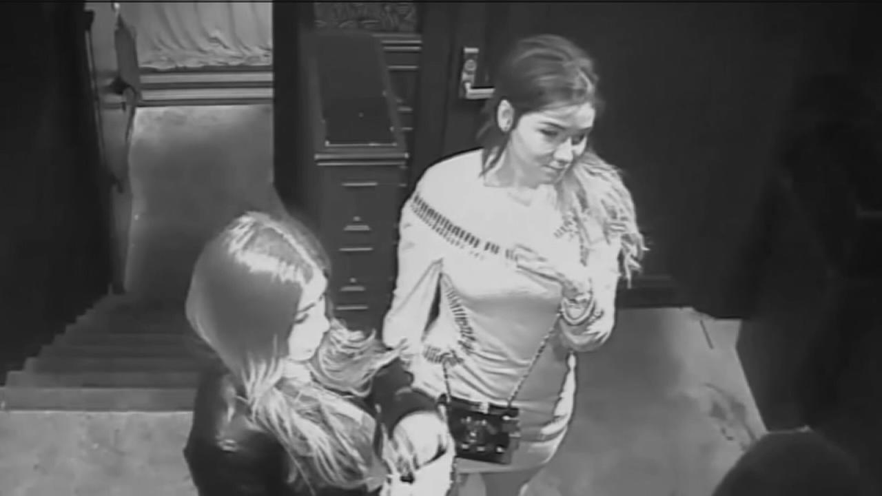 VIDEO: Surveillance of women sought in Knicks robbery