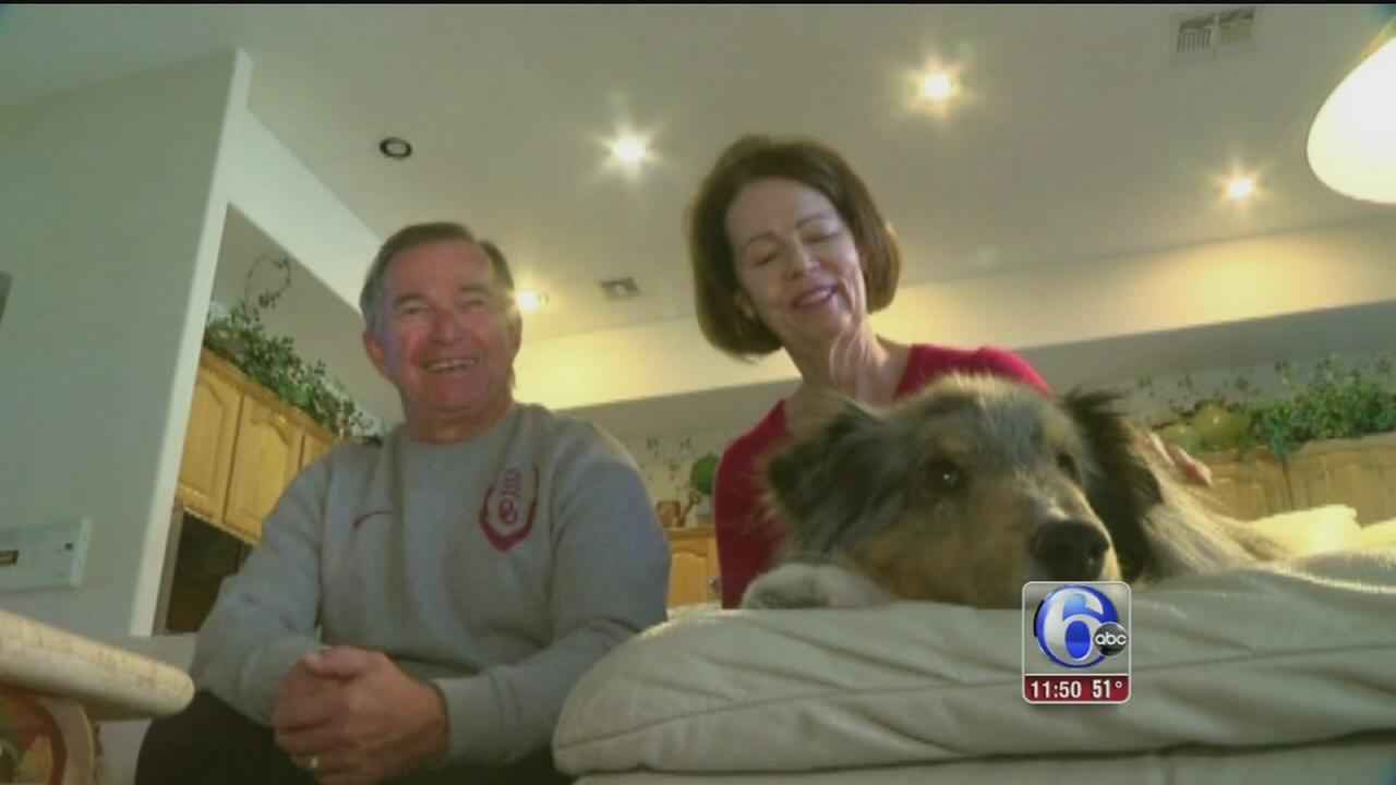 VIDEO: Willie the dog returns home
