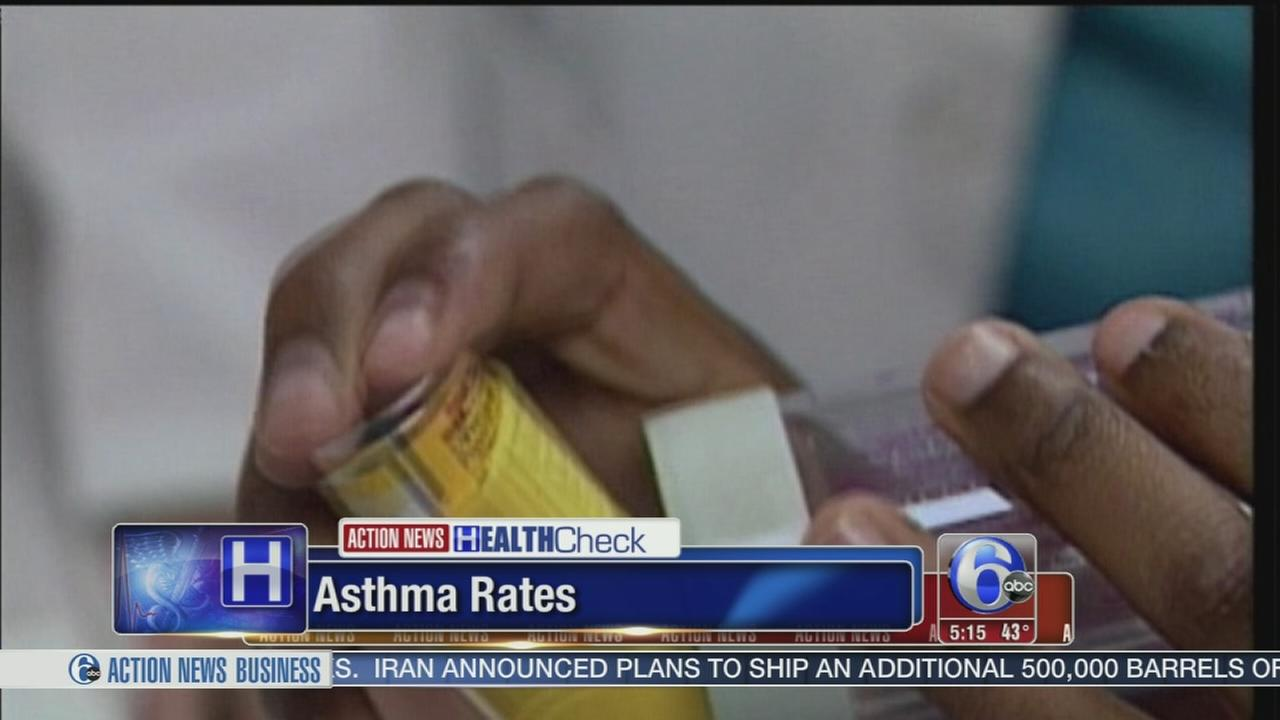VIDEO: Asthma rates