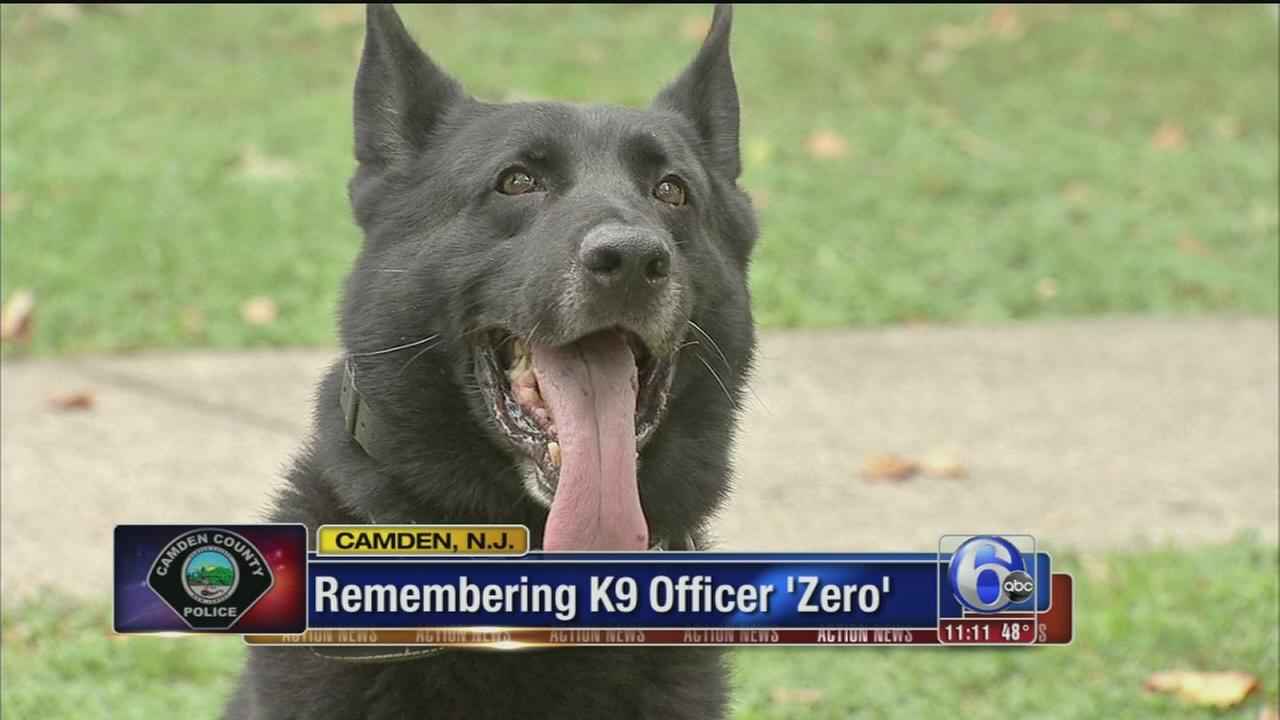 VIDEO: Remebering K9 Officer Zero
