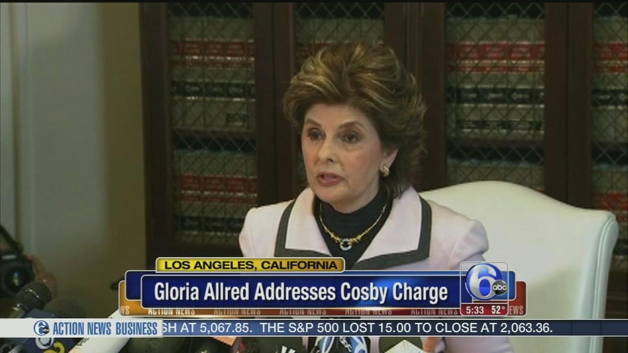 VIDEO: Gloria Allred addresses Cosby charge