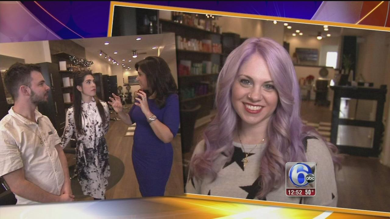 VIDEO: Exploring the new, colorful trend in hair