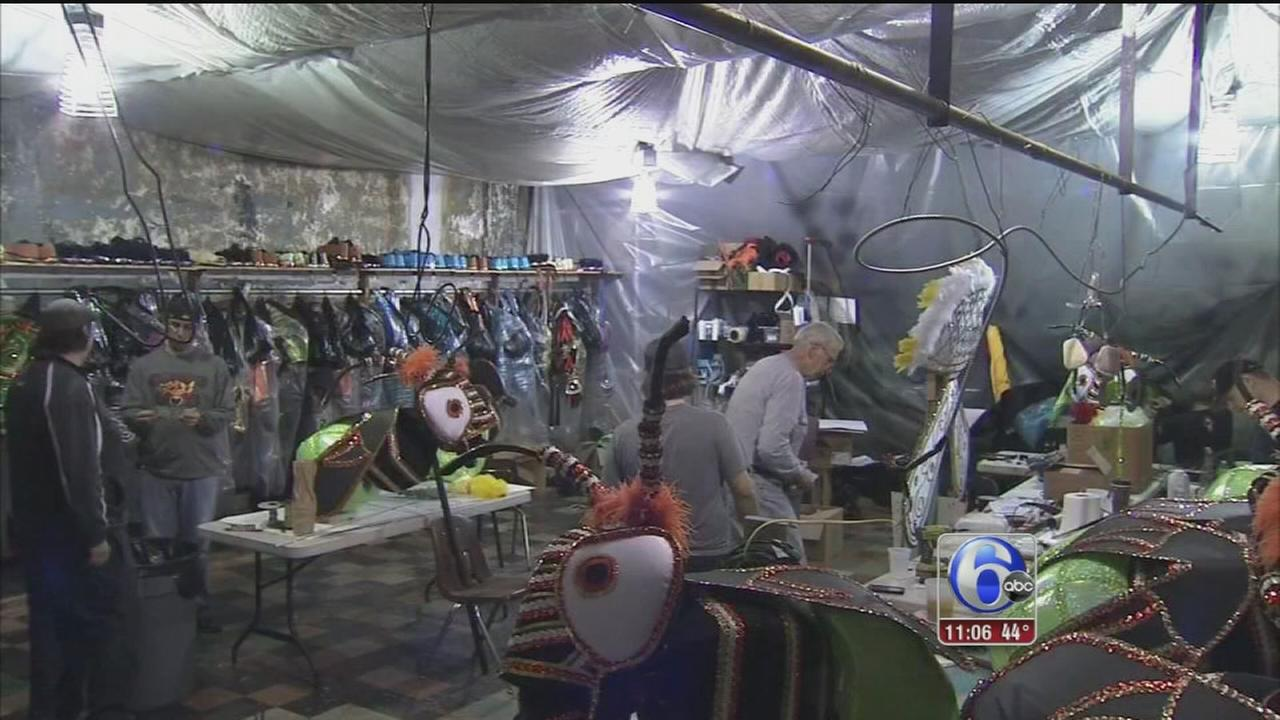 VIDEO: Mummers preparations