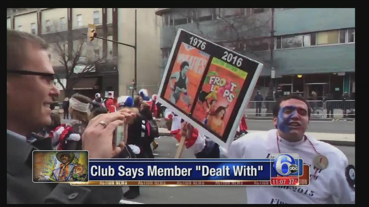 VIDEO: Club member banned from parades