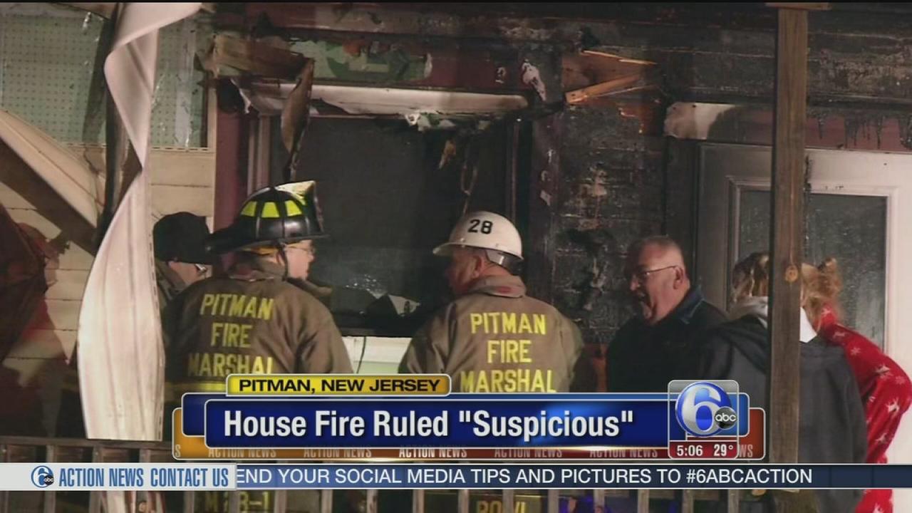 VIDEO: Pitman apartment fire ruled suspicious