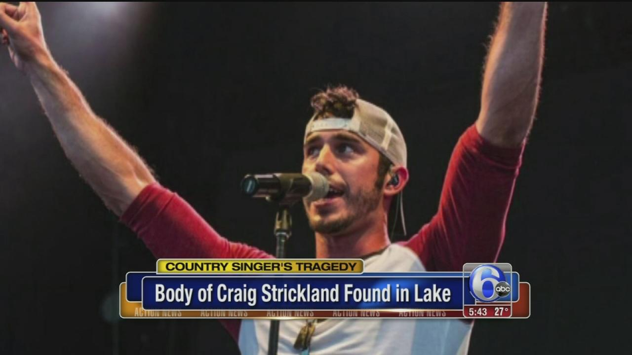 Body of country singer Craig Strickland recovered