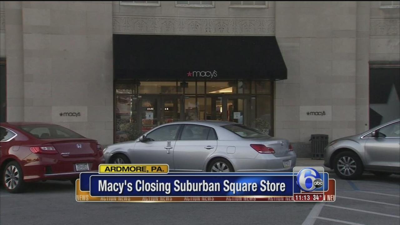VIDEO: Macys Suburban Square closing