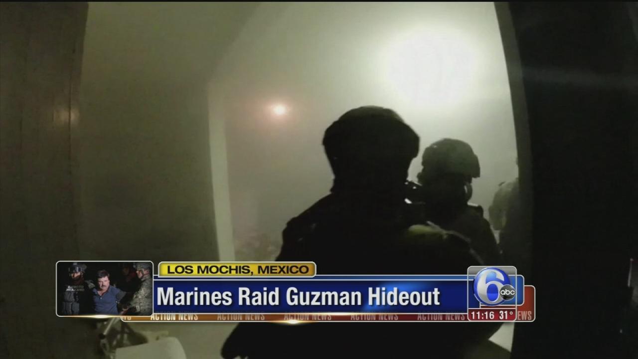 VIDEO: Inside the dramatic raid that took down El Chapo