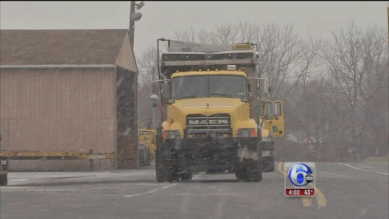 VIDEO: Road crews ready for snow