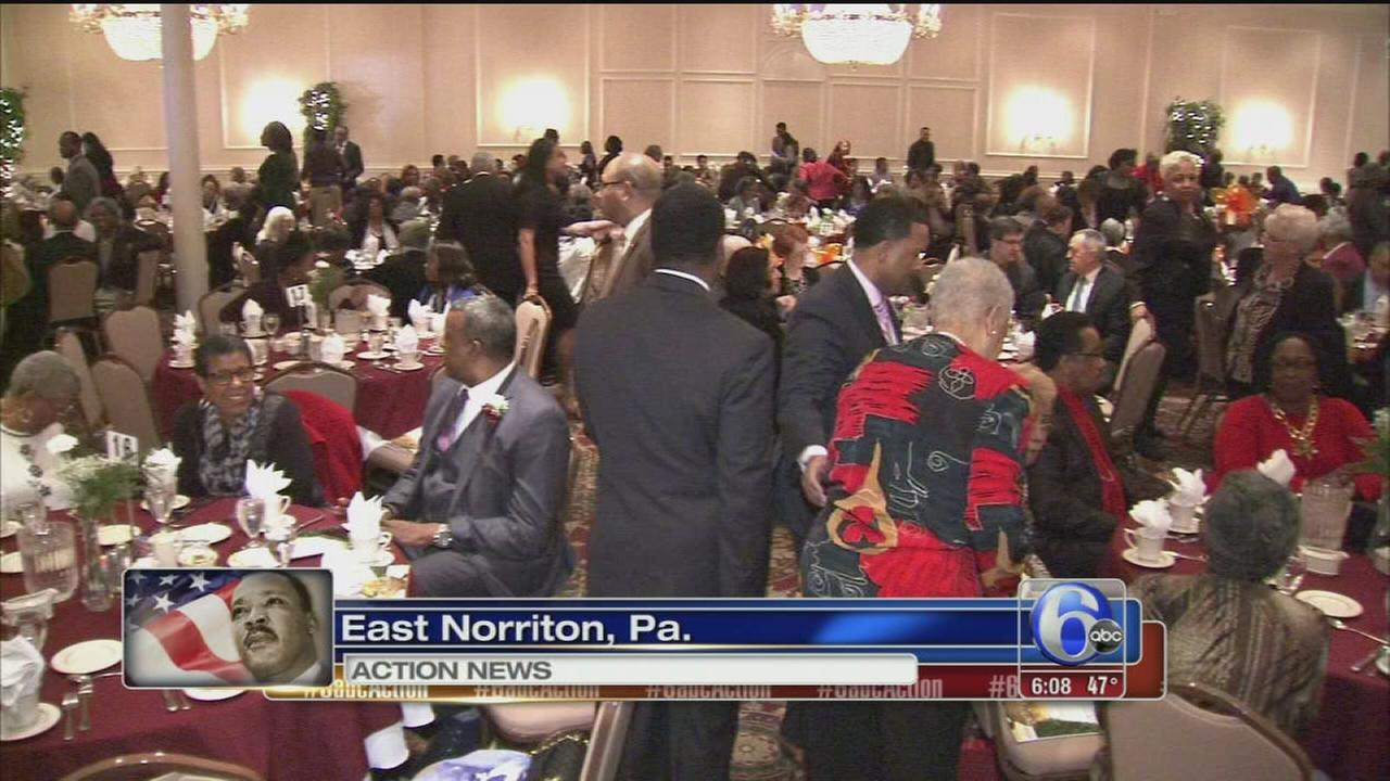 VIDEO: MLK celebration