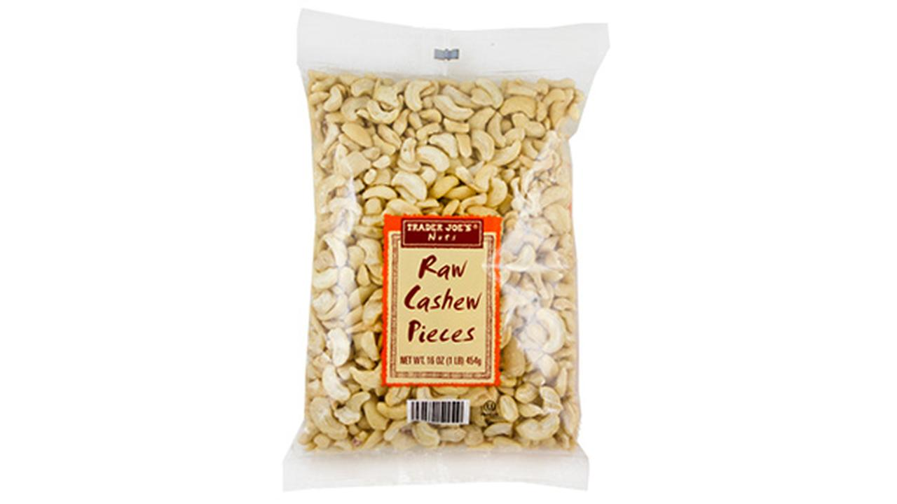 Trader Joe's recalls raw cashew pieces over possible salmonella contamination